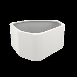 Shape Highgloss Pot & Jardinière en polyester finition brillante