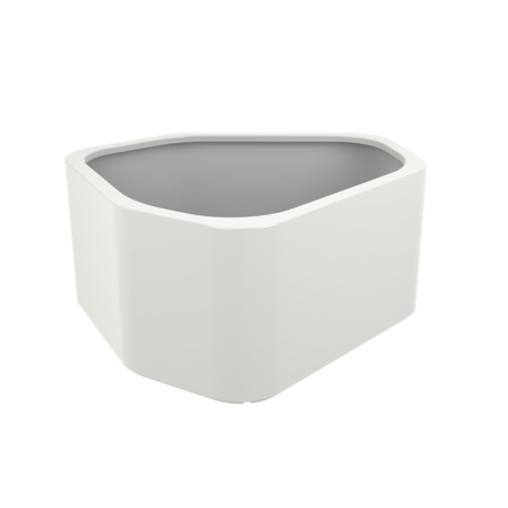 Shape Highgloss Pot & Jardinière en polyester finition brillante