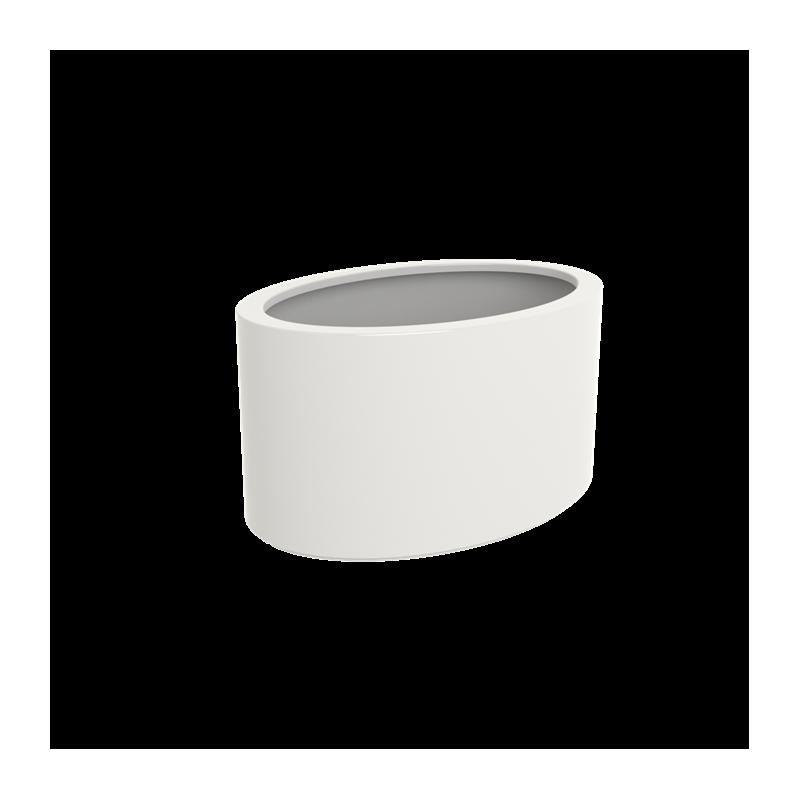 Ellipse Highgloss Pot & Jardinière en polyester finition brillante