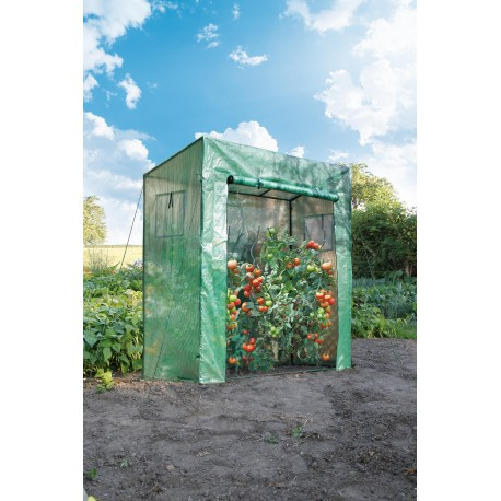 Serre pour tomates 1,5m² hauteur 2m