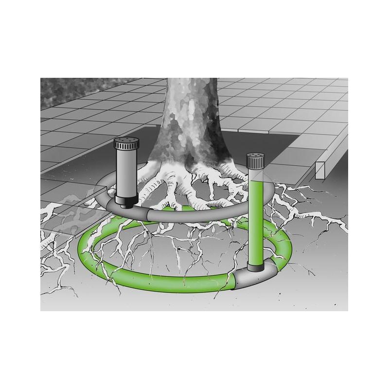 drain d'aération pour arbre et plantation