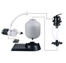 Kit pour piscine  20m³ - Pompe Poolmax TP25 + Filtre à sable PoolFilterSet 300 - Ubbink