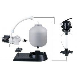 Kit pour piscine  70m³ - Pompe Poolmax TP75 + Filtre à sable PoolFilter 500 - Ubbink