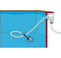Pool Cleaner auto - aspirateur branchement prise balai/skimmer - Ubbink