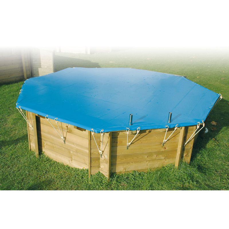 Bâche de sécurité pour piscine ronde – Ubbink
