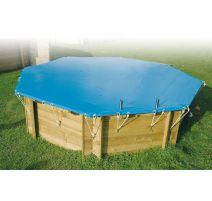 Bâche de sécurité pour piscine rectangulaire – Ubbink