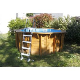 Piscine Sunwater All in ONE 360 - H120cm + Echelle amovible- Ubbink