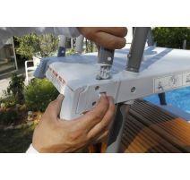 Piscine Sunwater All in ONE 360 - H120cm + Echelle amovible- Ubbink