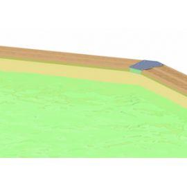 Piscine Sunwater 300x490  - H120cm - Ubbink