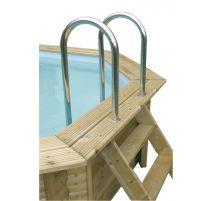 Piscine Sunwater 300x555 - H140cm - Ubbink