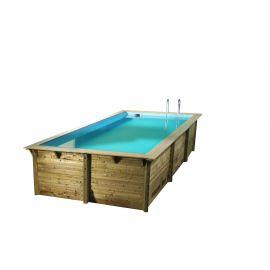 Piscine Azura 350x505 - H126cm - Ubbink