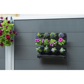 Kit jardin mural 12 pots 0,25L