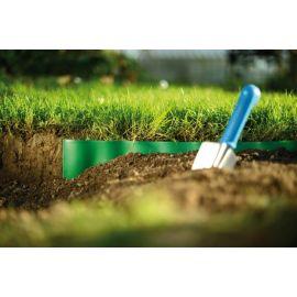 Bordure de jardin ondulée - vert - 10 cm x 9 m