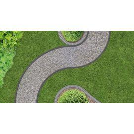 Bordure de jardin UNIBORD  4,5 cm x 4 m  + 16 clous