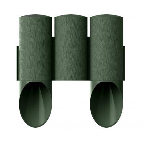 Palissade de jardin 3 MAXI - vert - 13,5 cm x 2,1 m