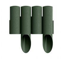 Palissade de jardin 4 STANDARD - vert - 14,5 cm x 2,3 m