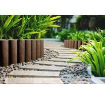 Palissade de jardin 4 STANDARD - brique - 14,5 cm x 2,3 m