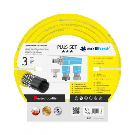 Kit d'arrosage PLUS 12,5 mm  + access. IDEAL