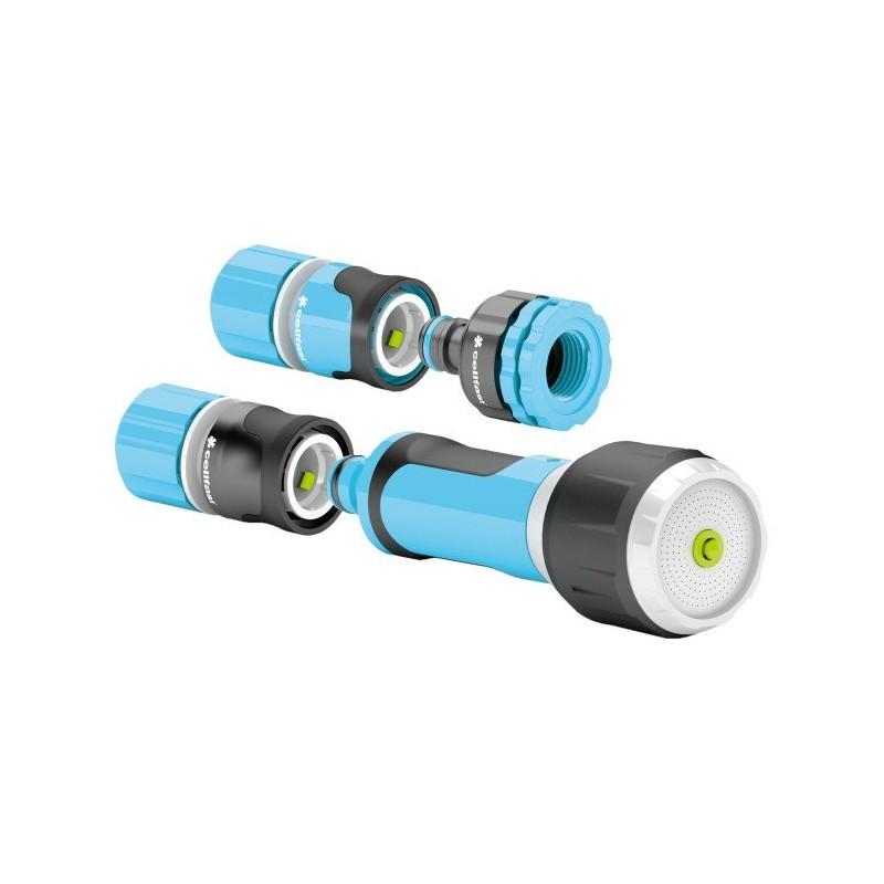 Kit ERGO avec arroseur simple multifonctions 12,5  et  15 mm