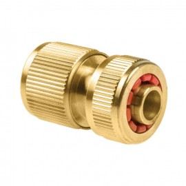 Raccord rapide stop laiton BRASS  12,5  et  15 mm