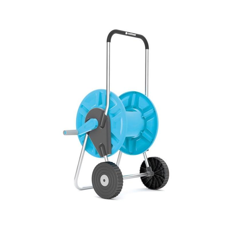 Dévidoir sur roues ALUPLUS (capacité 45 m - tuyau 12,5 mm)