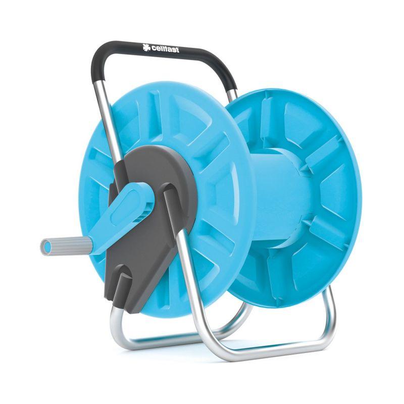 Enrouleur de tuyau ALUPLUS (capacité 60 m - tuyau 12,5 mm)