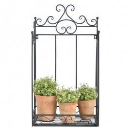 Porte plantes mural pliant
