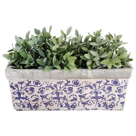 Jardinière céramique Bleu
