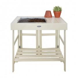 Table Rempotage Blanche ou grise