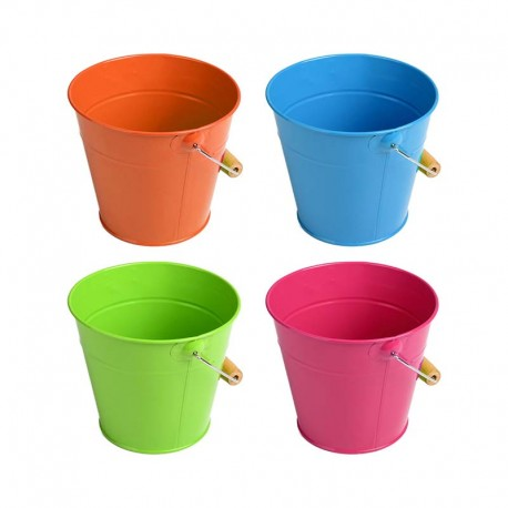 Seau pour enfant, 4 coloris différents