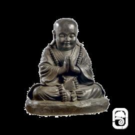 Moine Assis moyen modèle - Statue