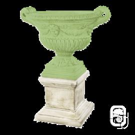 Base Carree Renaissance Pour Vasque - Statue