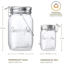 Sonnenglas - Bocal solaire fabriqué en Afrique du Sud - Commerce équitable