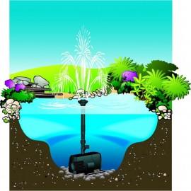 pompe pour jet d'eau bassin et fontaine et filtre
