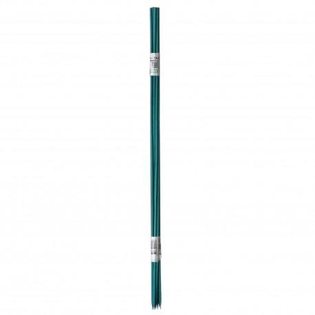 10 Tuteurs H50cm en bambou refendu vert