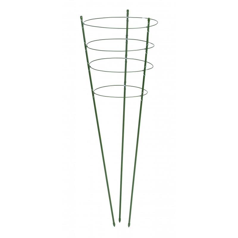 Tuteur en cône pour fleurs - H60cm Ø7 mm