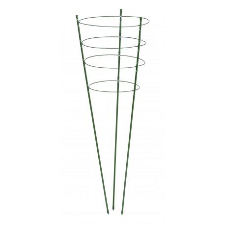Tuteur en cône pour fleurs - H120 cm x Ø11 mm