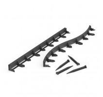 Bordure noire flexible - Multi Edge Flex