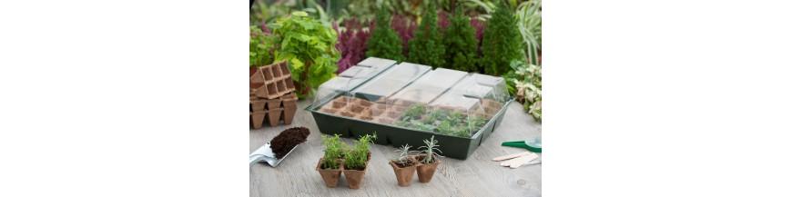 une mini-serre pour réaliser vos semis facilement, cloche et voile de protection - Jardiprotec