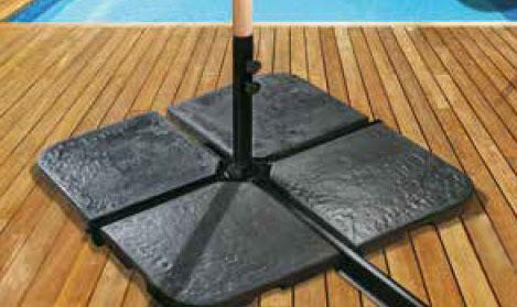 Pieds de parasol